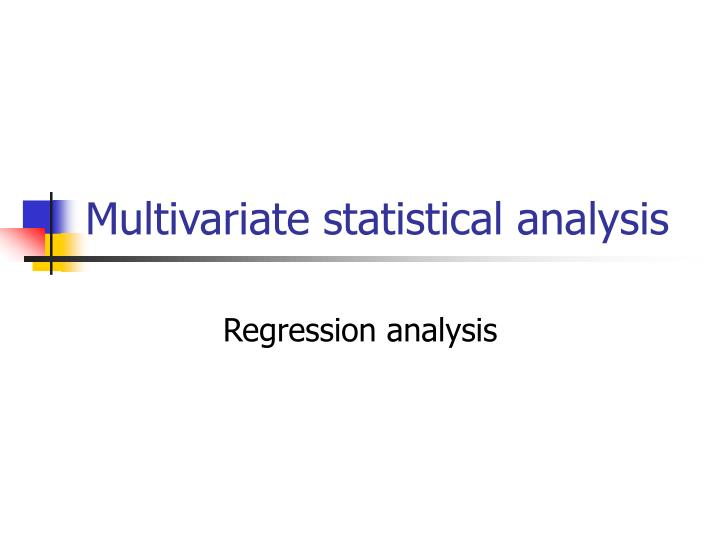 what is regression analysis in research Regression is arguably  what is regression analysis  multiple regression is more widely used than simple regression in marketing research,.
