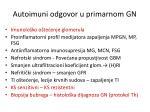 autoimuni odgovor u primarnom gn