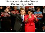 barack and michelle obama election night 2008