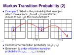 markov transition probability 2