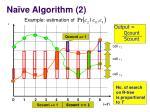 na ve algorithm 2