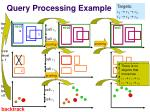 query processing example