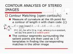 contour analysis of stereo images6