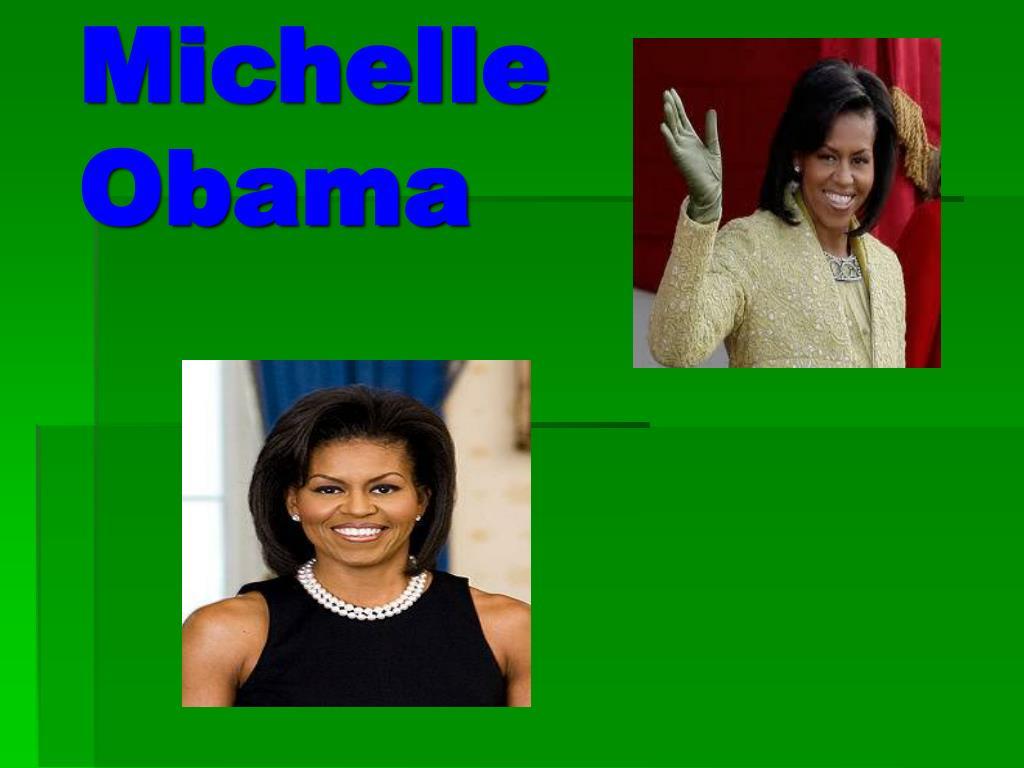 PPT - Michelle Obama PowerPoint Presentation - ID:4483375