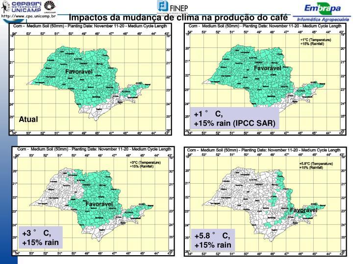 Impactos da mudança de clima na produção do café