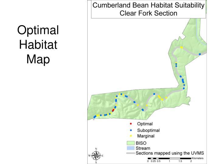 Optimal Habitat Map