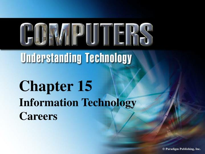 chapter 15 information technology careers n.