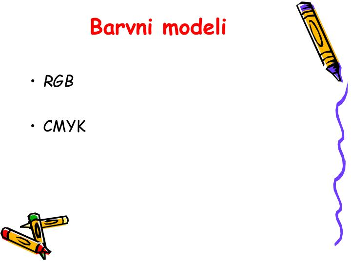 Barvni modeli