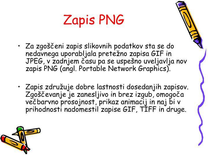 Zapis PNG