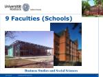 9 faculties schools1