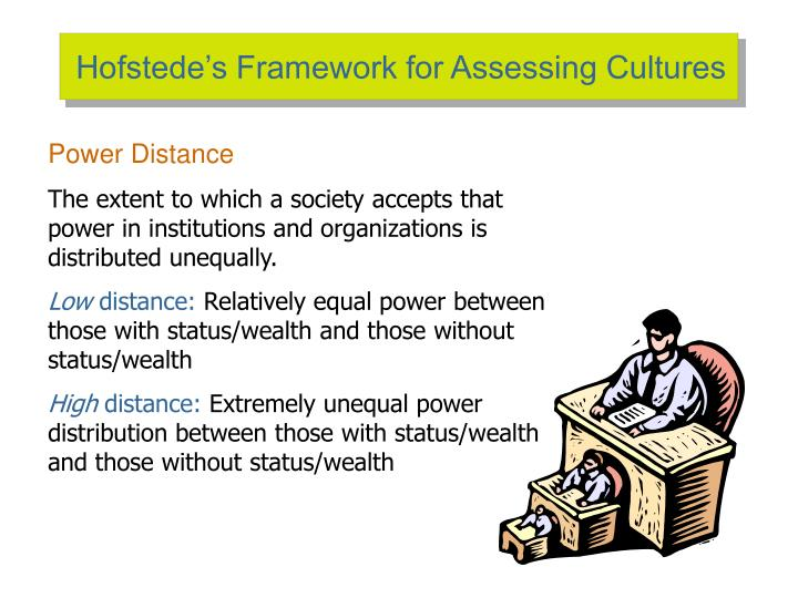 the globe framework for assessing cultures Knowing how cultures view different aspects of business can help a  these different dimensions are very similar to geert hofstede's cultural dimensions theory,.