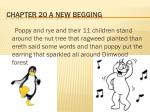 chapter 20 a new begging
