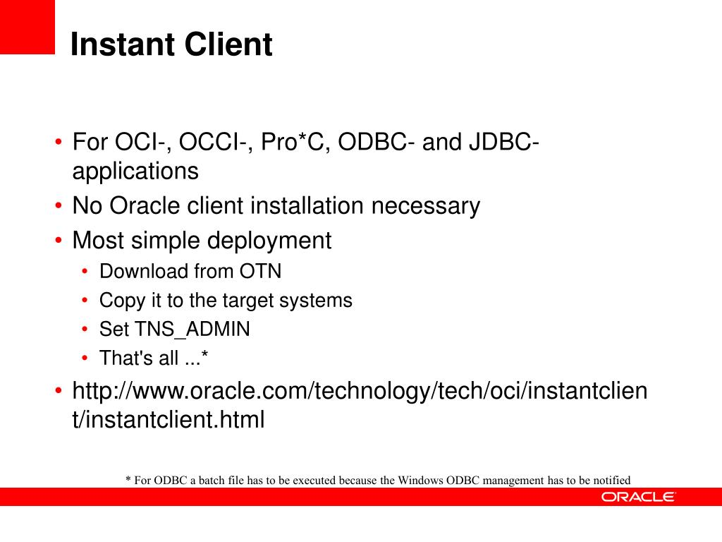 PPT - Oracle Installation and Management in a nutshell