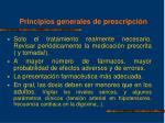principios generales de prescripci n