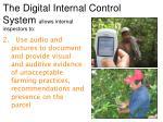 the digital internal control system allows internal inspectors to1
