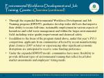 environmental workforce development and job training grants overview continued1