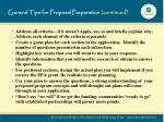 general tips for proposal preparation continued1