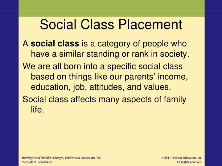 how does social class affect peoples lives