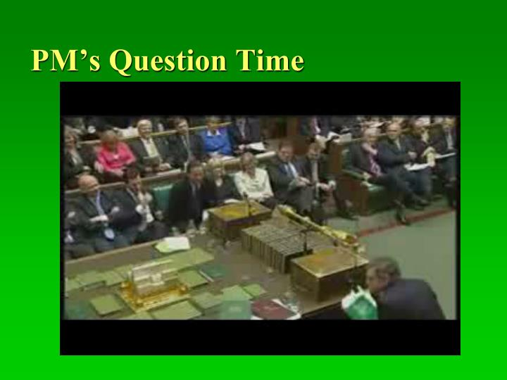 PM's Question Time