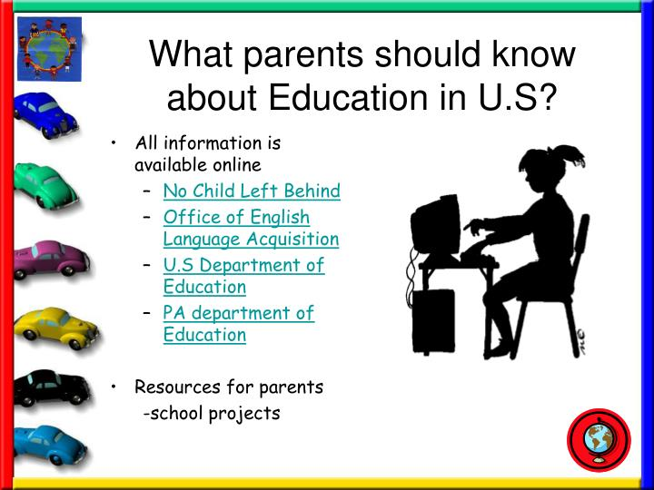 What parents should know about Education in U.S?