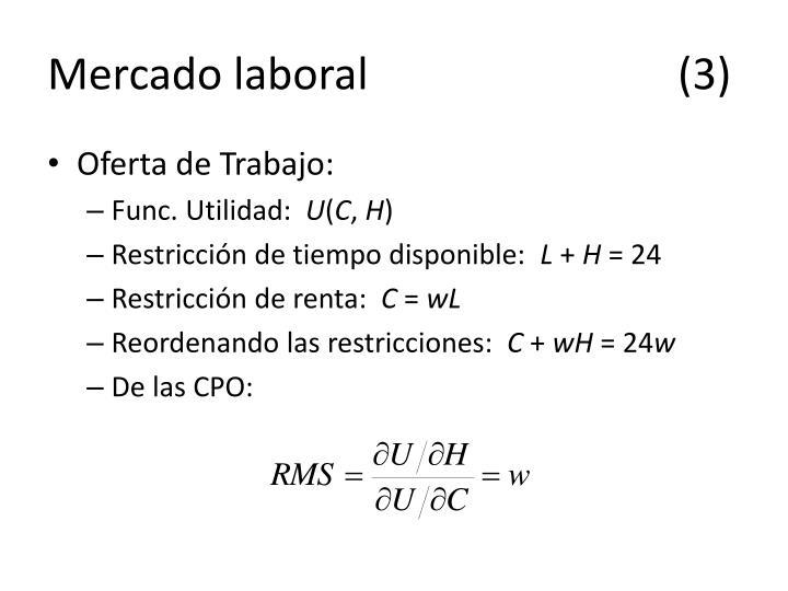 Mercado laboral(3)