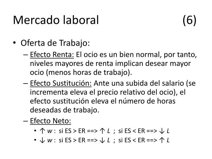 Mercado laboral(6)