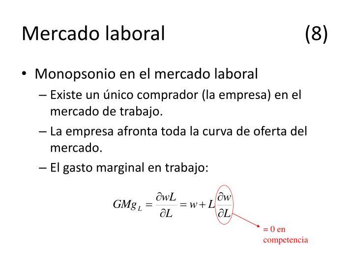 Mercado laboral(8)