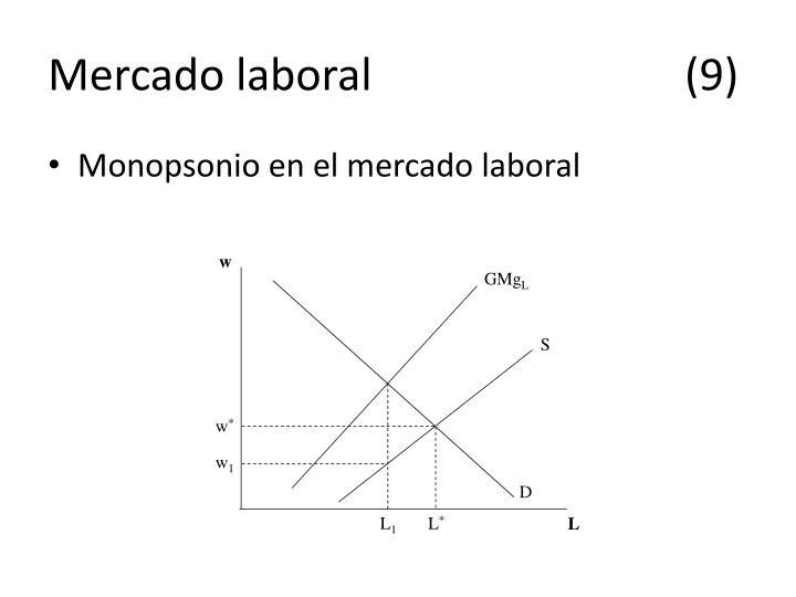 Mercado laboral(9)