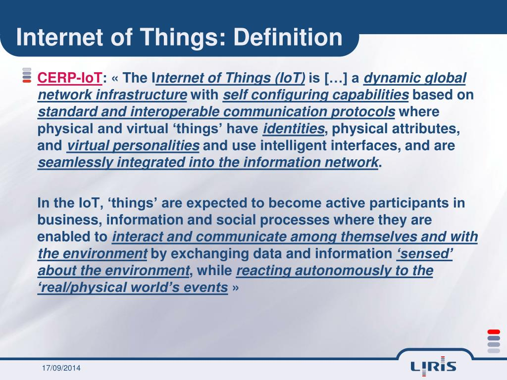 PPT - Towards the Internet of Things? PowerPoint
