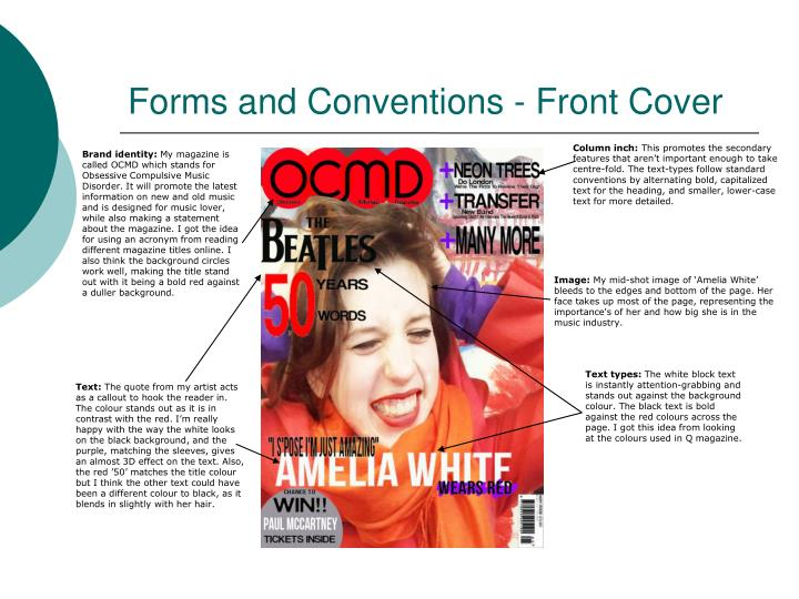 Forms and conventions front cover
