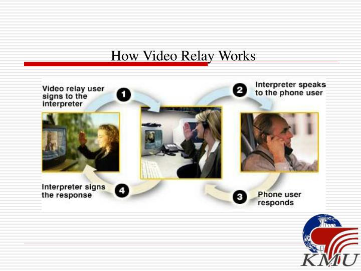How Video Relay Works
