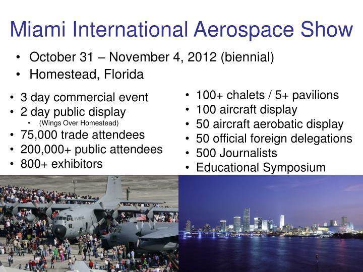 Miami International Aerospace Show