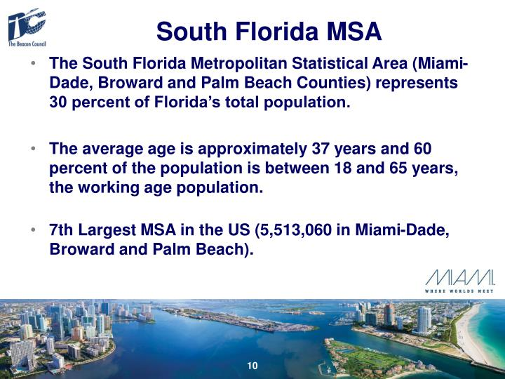 South Florida MSA