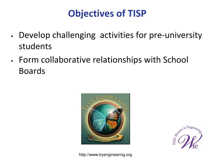 Develop challenging  activities for pre-university students