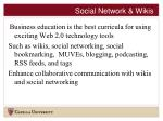 social network wikis