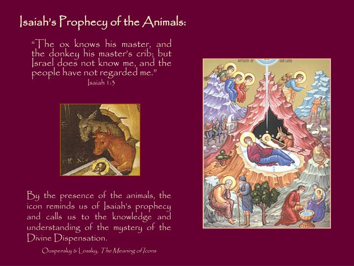 Isaiah's Prophecy of the Animals: