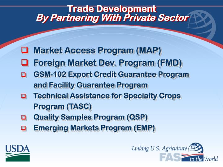 Trade Development