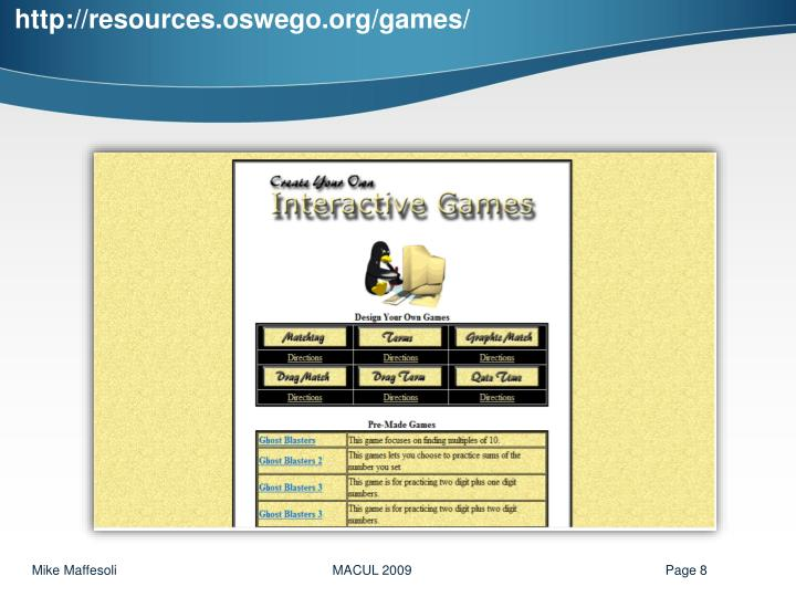 http://resources.oswego.org/games/