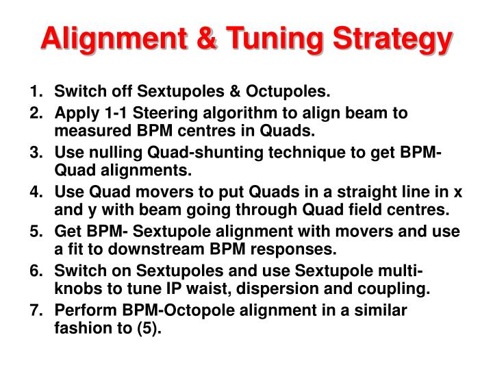 Alignment & Tuning Strategy