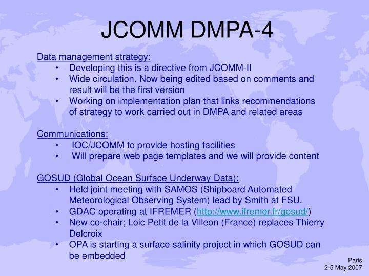 JCOMM DMPA-4