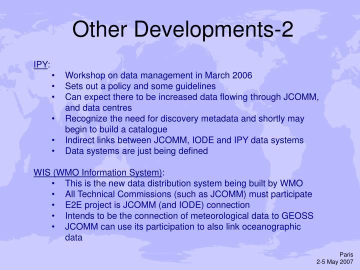 Other Developments-2