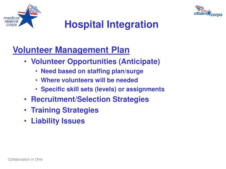 Hospital Integration