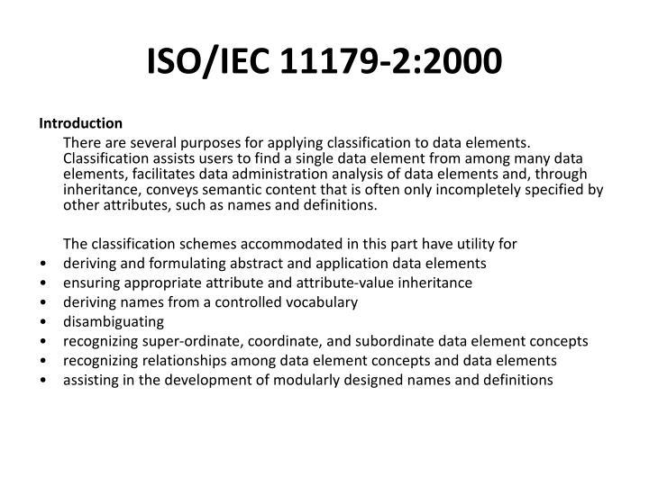ISO/IEC 11179-2:2000
