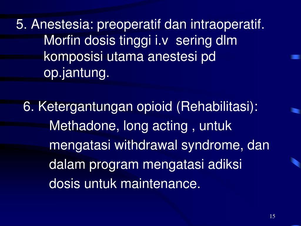 PPT - O P I O I D Analgesik narkotik PowerPoint ...