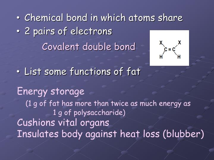 Chemical bond in which atoms share