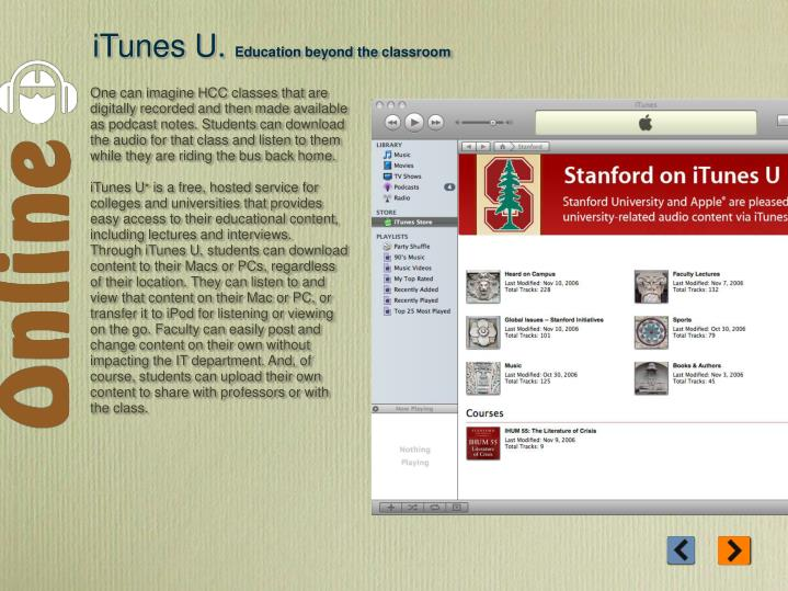 iTunes U.