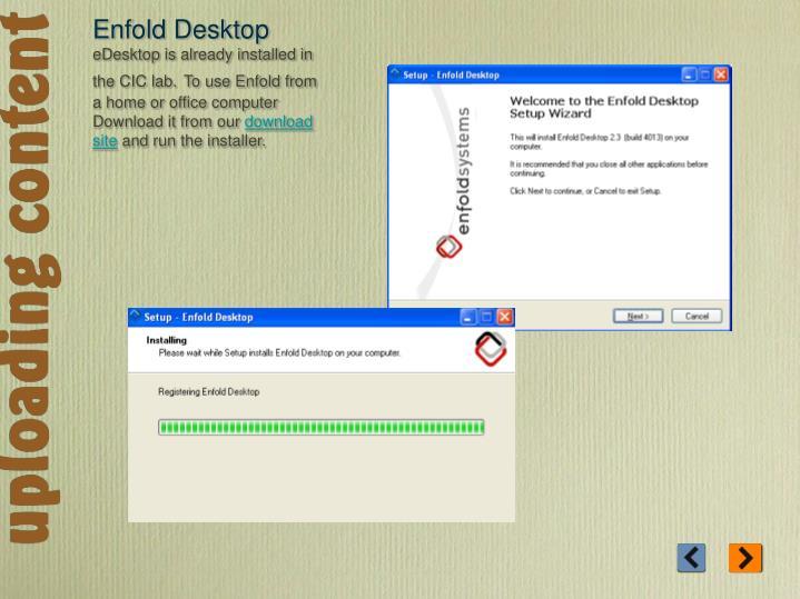 Enfold Desktop
