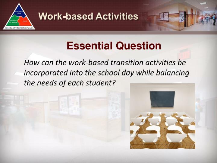 Work-based Activities