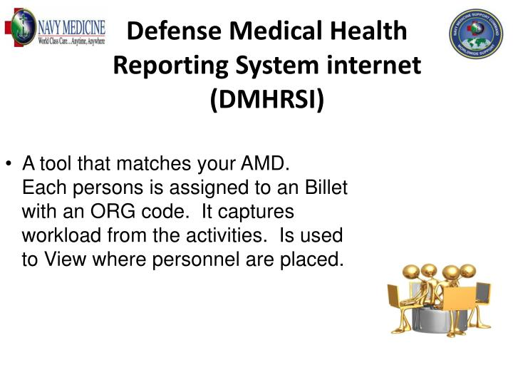 Defense Medical Health Reporting System internet