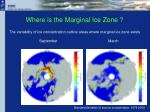 where is the marginal ice zone